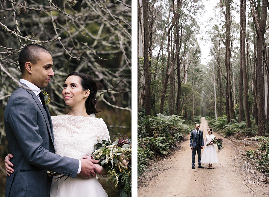 monga-national-park-new-south-wales-wedding-braidwood-photographer-forest-trees-lady-larissa-florist-canberra-bouquet