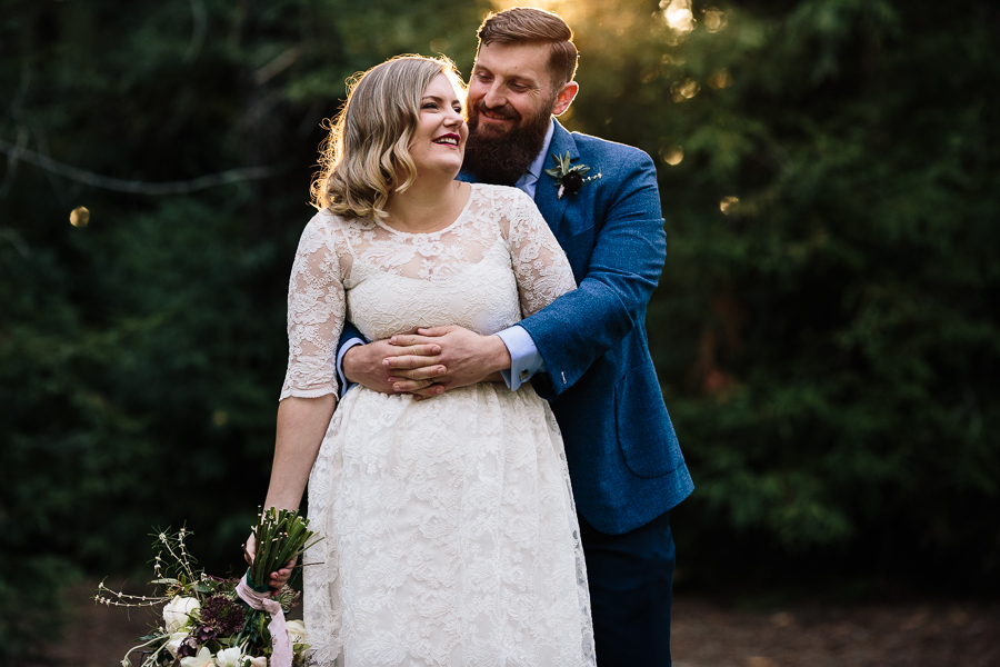 Pialligo Redwood Forest Canberra Bride Groom Wedding