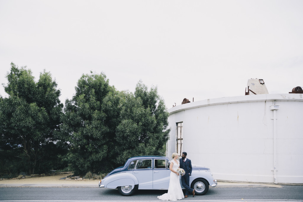 Canberra-wedding-photographer-videographer-mt-stromlo-ruins-australia-car