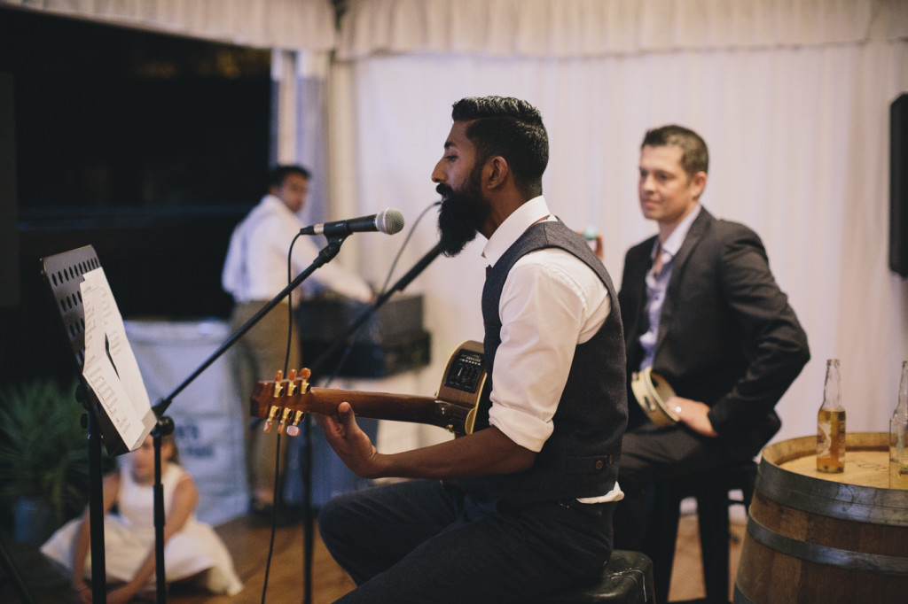 Canberra-wedding-photographer-videographer-diy-backyard-styling-festoon-lights-documentary-emotion-modern-music-guitar