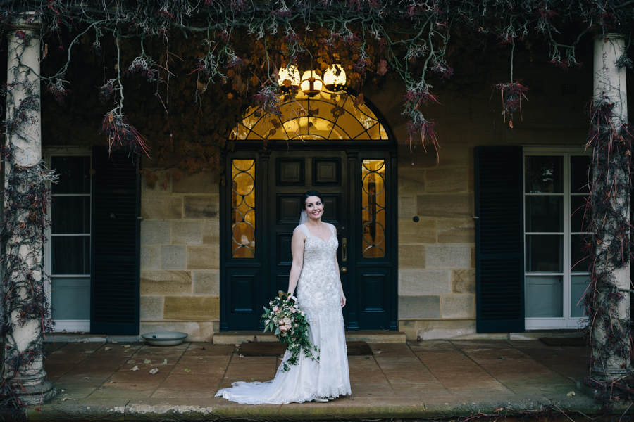 Bendooley-Estate-Wedding-Venue-Berrima-Southern-Highlands-Australia-photographer-videographer-documentary-bride-dress-cascading-bouquet