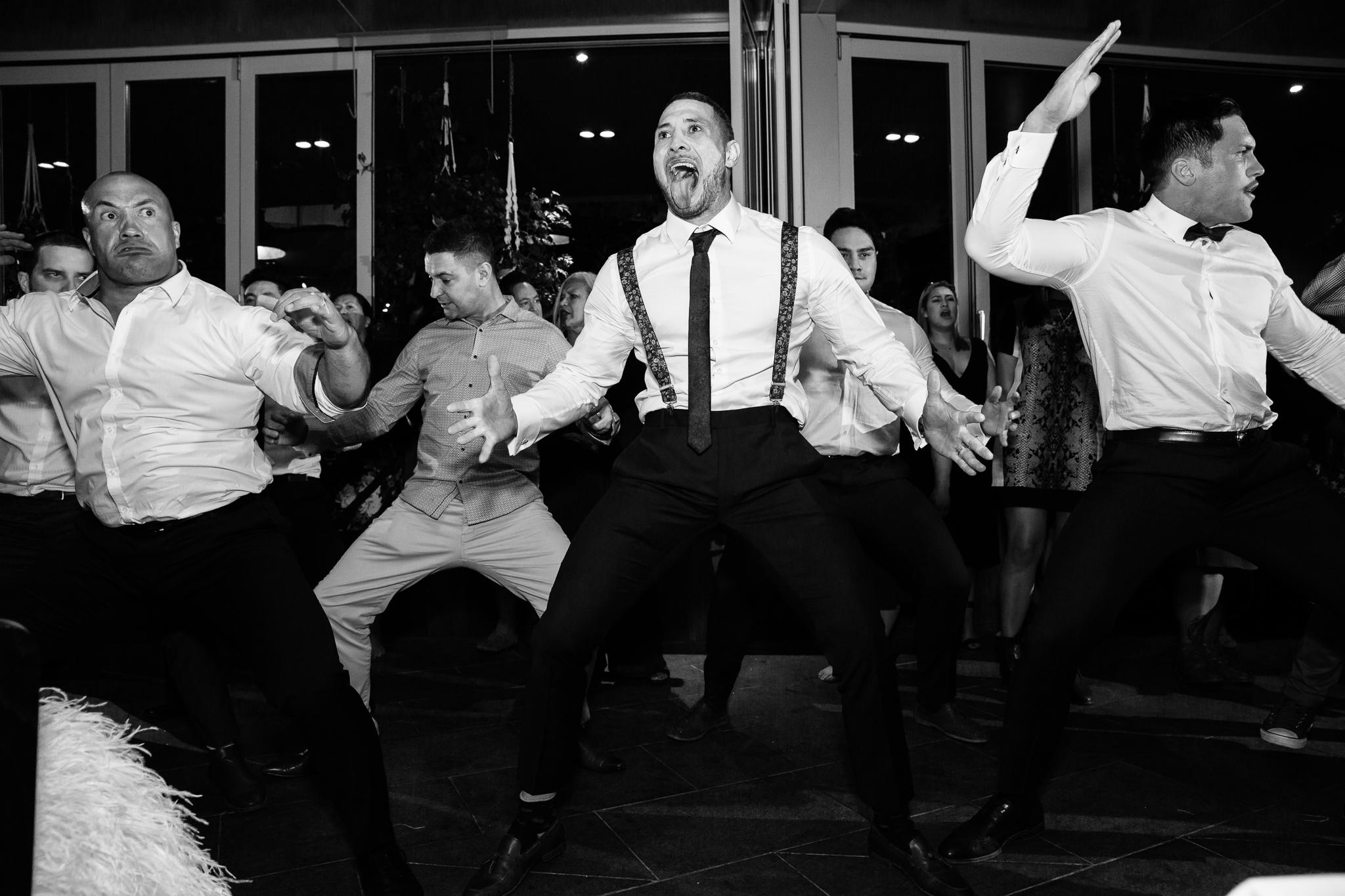 haka-dance-performance-wedding-reception-canberra
